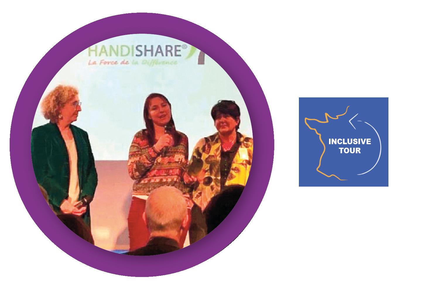 2020 : Trophée du recrutement Inclusif, remis par Muriel PENICAUD lors de l'inclusive tour
