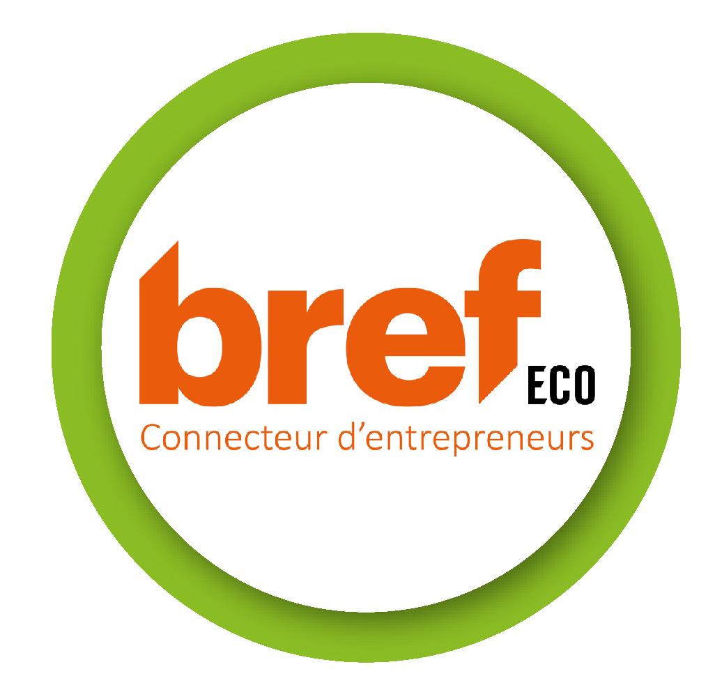 Logo Bref ECO, connecteur d'entrepreneurs